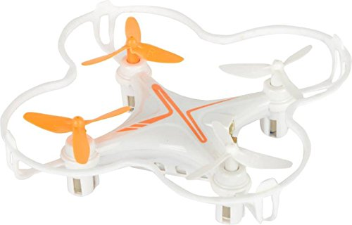 Baybee Lightning RC Quadcopter Drone 360 Degree Roll Over | USB Cable with Led Lights & Charger,Remote Control Drone (White)
