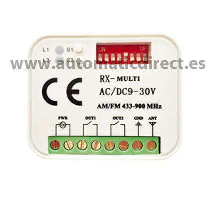 433 2 Roller Roller Télécommandes 4 canaux pour erreka Iris 868 Roller
