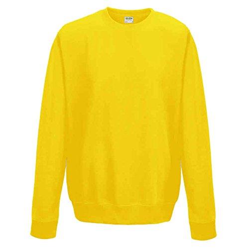 AWDis -  Felpa  - Uomo Sun Yellow Medium