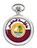 Qatar Full Hunter reloj de bolsillo