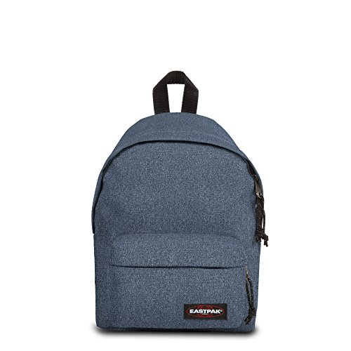 Eastpak Orbit - Zaino piccolo, 10 L, Blu (Double Denim), 33.5 x 23 x 15 cm