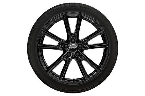 AUDI WKR 10-Speich-Vox--Design 8x20 5/112/39 Alu-Basisrad 255/45 R20 101V Contin - 80A073220AX1