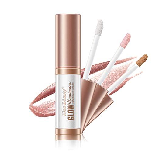 ARTIFUN Maquillage Correcteur Liquide Correcteur Imperméable À l'eau Shimmer Fard À Paupières Allongé Surligneur Liquide Liquide