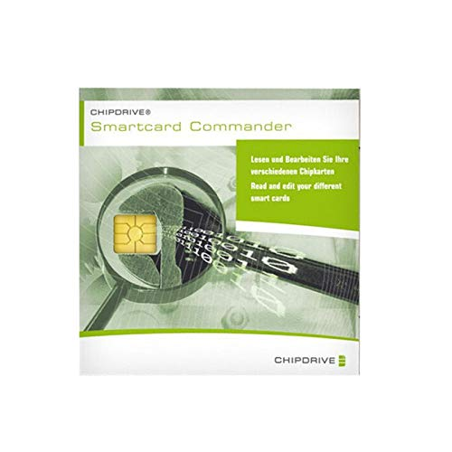 CHIPDRIVE SmartCard Commander (Software Produkt Keycard/Lizenz) - Software zu Lesen diverser SIM Karten, Handykarten, Chipkarten allgemein