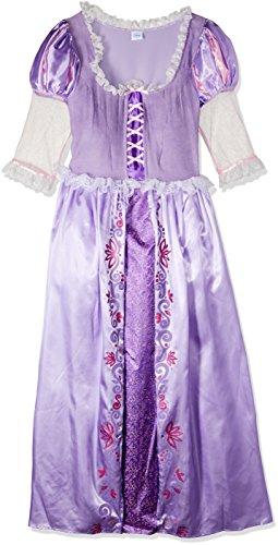 Damen Rapunzel Disney Princess, Erwachsene Kostüm–Kleine (Erwachsene Rapunzel)