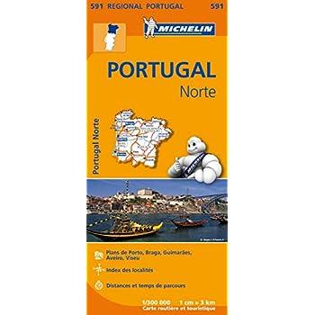 Carte Portugal Nord Michelin