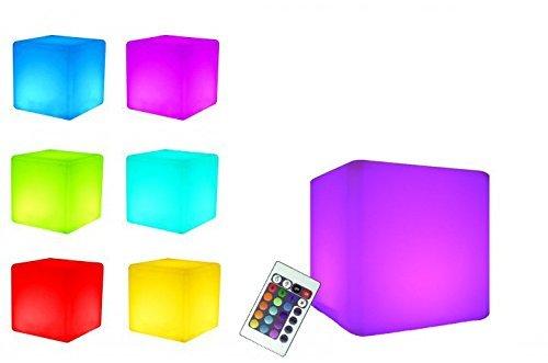 7even® LED Design Diseño Cubo 30 / LED luminoso