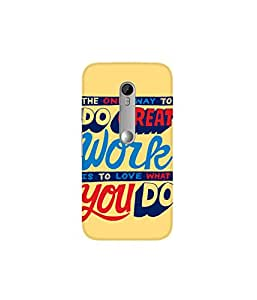 Kolor Edge Printed Back Cover For Motorola Moto G (3rd Gen ) - Multicolor (4389-Ke10896MotoG3Sub)