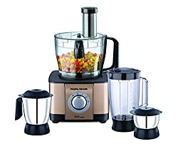 Morphy Richards Icon Superb 1000-Watt Food Processor (Glazing Copper)