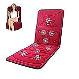 Cuscino di massaggio, materasso di massaggio elettrico di riscaldamento di vibrazione, sede massaggio completo di massaggio cervicale di massaggio cervicale, cuscino di massaggio infrarosso lontano