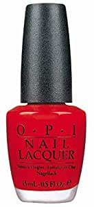 O.P.I Nail Lacquer, OPI Red, 15ml