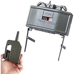 Jo332Bertram Remote Detonation Device Launcher Claymore Mine Bombe a Eau Jouet Grenade pour Nerf CS Jeux