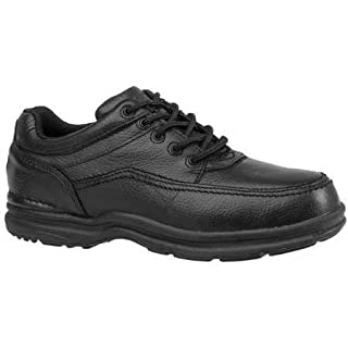 Rockport - RK6761-8.5W - 4H Men's Work Shoes, Steel Toe Type, Leather Upper Material, Black, Size 8-1/2