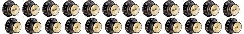 gibson-gear-prmk-020-perillas-estilo-top-hat-insercion-de-metal-y-oro-4-unidades-color-negro