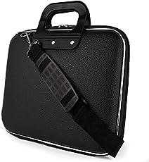 "Hi-MaK 15.6"" Black Laptop Briefcase"