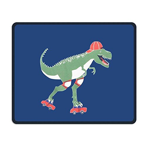 Computer Mouse Pad, Cute Funny Dinosaur Cap Blue Mouse Pads, Comfort Soft Non Slip Lightweight Premium-TexturedMouse Pad Mat for Women Men at Home or Work Home Womens Cap
