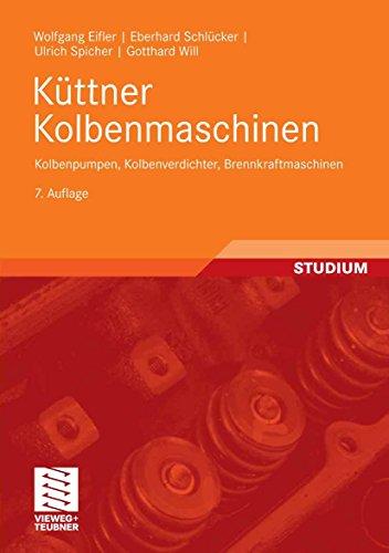 Küttner Kolbenmaschinen: Kolbenpumpen, Kolbenverdichter, Brennkraftmaschinen