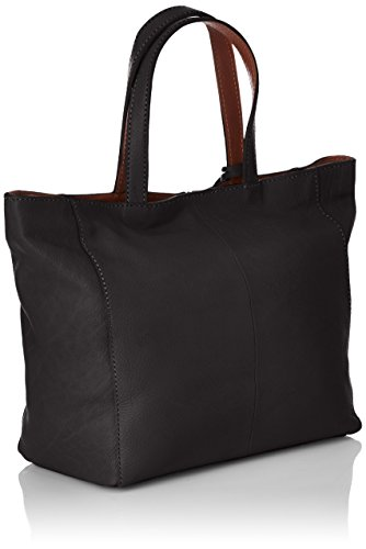 Loxwood Cabas Parisien Mm Damen Shopper Schwarz - Schwarz (Black)