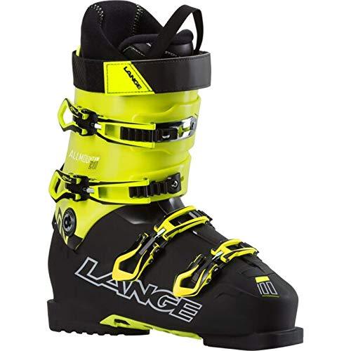 Lange Herren Ski Schuh Skistiefel XC 100 All Mountain schwarz gelb, Größe:26