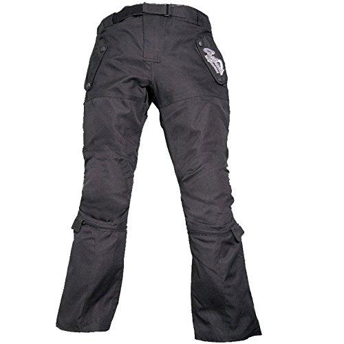 Modeka T5 KIDS Kinder Textilhose - schwarz Größe 140