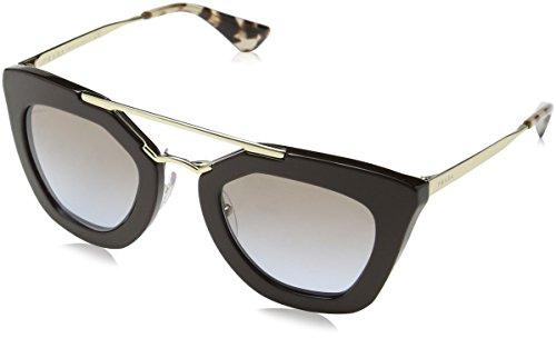 Prada pr09qs dho4s2 (49 mm), occhiali da sole donna, marrone (braun), unica (taglia produttore: one size)