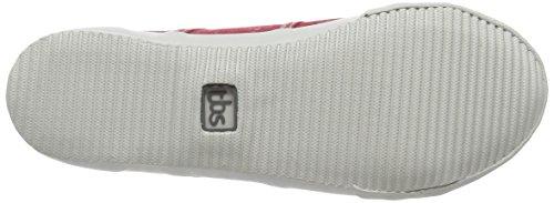 TBS Opiace, Damen Sneakers Rot - Rouge (Rubis)