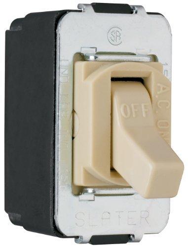 Legrand-Pass & Seymour ACD1ICC8 Despard Toggle Switch Single Pole 15-Amp 120/277-Volt , Ivory by Legrand-Pass & Seymour