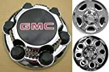 16 17 Inch OEM GMC 6 Lug Chrome Plated Center Cap Hubcap...