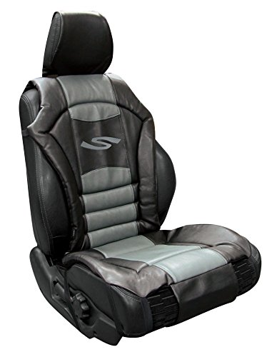 Autositzbezug gepolstert - grau  (Sportex-Serie)