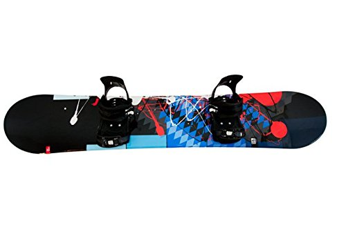 "Snowboardset Generics ""FUSION"" inkl. Bdg. 155 cm"