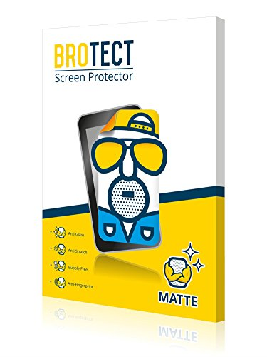 2x BROTECT Matte opaco Pellicola Protettiva per Fujitsu Siemens Stylistic ST4110, Opaca e antiriflesso, Resistente ai graffi e Antimacchia