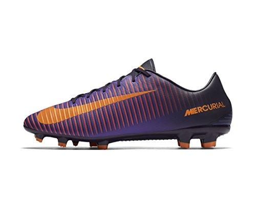 Nike Herren 847756-585 Fußballschuhe, Violett (Purple Dynasty/Bright Citrus/Hyper Grape), 41 EU (Schuhe Nike Futbol)