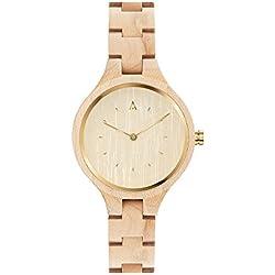 MAM Originals · Geese Maple   Relojes de mujer   Diseño minimalista   Relojes de madera sostenible   Alta calidad a buen precio