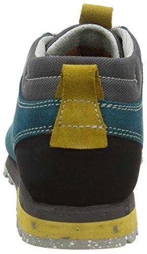 AKUBELLAMONT SUEDE - Scarpe Sportive Outdoor Unisex - Adulto Mehrfarbig (PETROL/OCHRE)