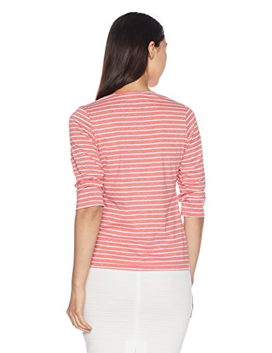 Qube-By-Fort-Collins-Womens-Striped-T-Shirt