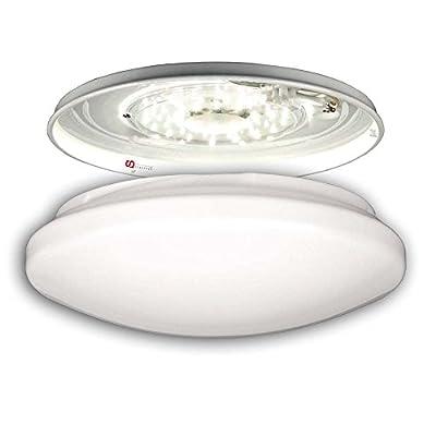 LICHT-TREND LED Deckenleuchte 12W BRIGHT Ø26cm, weiß von Licht-Design Skapetze - Lampenhans.de