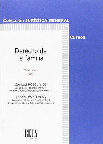 Derecho de la familia (Jurídica General-Cursos) por Isabel Espín Alba