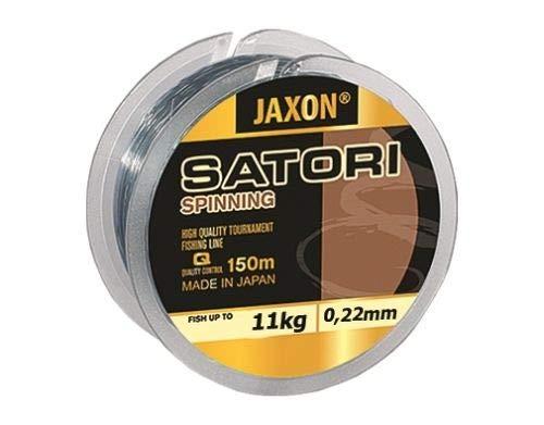 Jaxon Angelschnur Satori Spinning 150m Spule Monofile Schnur (0,22mm / 11kg)