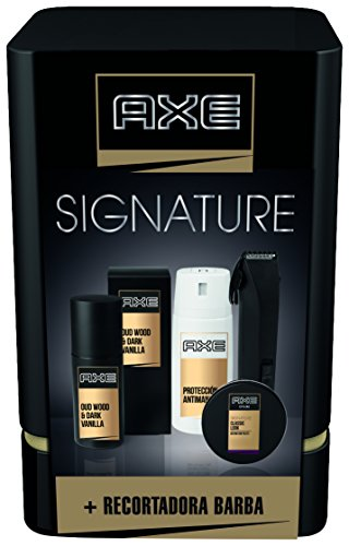 Axe Quattro Signature Pack Regalo Recortadora de Barba