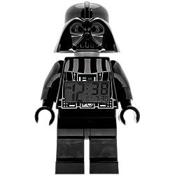 LEGO Despertador con luz infantil con figurita de Darth Vader Star Wars 9002113