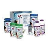 Alice's Garden - Kit complet traitement de l'eau à l'oxygène actif, coffret d'entretien HTH pour SPA gonflable