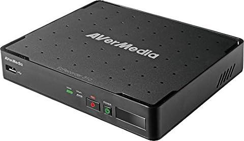 AVerMedia EZRecorder 310 - HD Video Capture High Definition HDMI Recorder, PVR, DVR, ohne Abonnement, zeitgesteuerte Aufnahme, Infrarot Blaster (ER310)