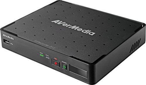 AVerMedia EZRecorder 310 - HD Video Capture High Definition HDMI Recorder, PVR, DVR, ohne Abonnement, zeitgesteuerte Aufnahme, Infrarot Blaster (ER310)