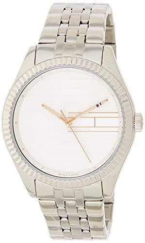 Tommy Hilfiger Reloj Analógico para Mujer de Cuarzo con Correa en Acero Inoxidable 1782080