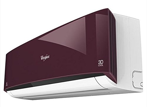 Whirlpool 3D Cool Deluxe III Split AC (1.5 Ton, 3 Star Rating, Wine Red)