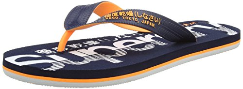 Superdry Men's Scuba Flip-Flops multicolour Size: Medium