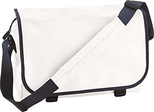 BagBase, Borsa a spalla donna White/French Navy
