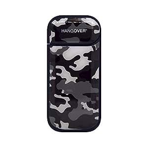 Hangover Cover Skin Adesiva in Resina Speciale per Iqos 2.4 e 2.4+ Design Military Black