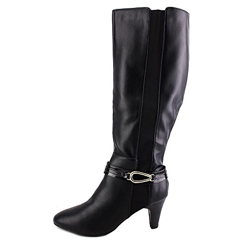 Karen Scott Holdenn Cuir Botte Black