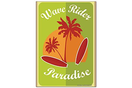 Fridge Magnet Divertissement Coureur de vague